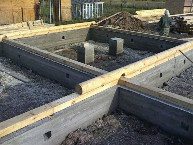 Плиты ленточных фундаментов: перекрытия из панелей и пол по грунту