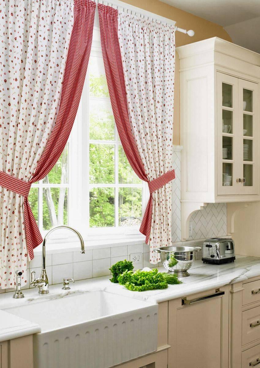 Шторы для кухни: лучшие примеры современного дизайна, модные идеи с фото