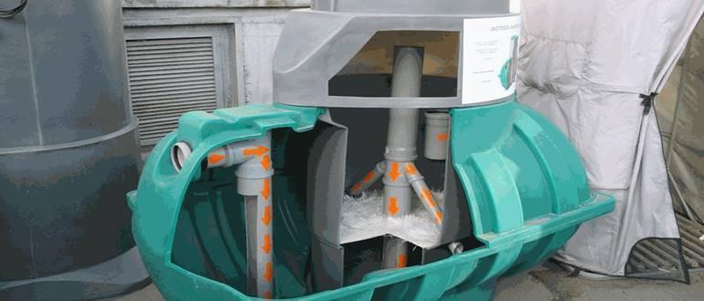 Модификации септика тритон для дома и дачи