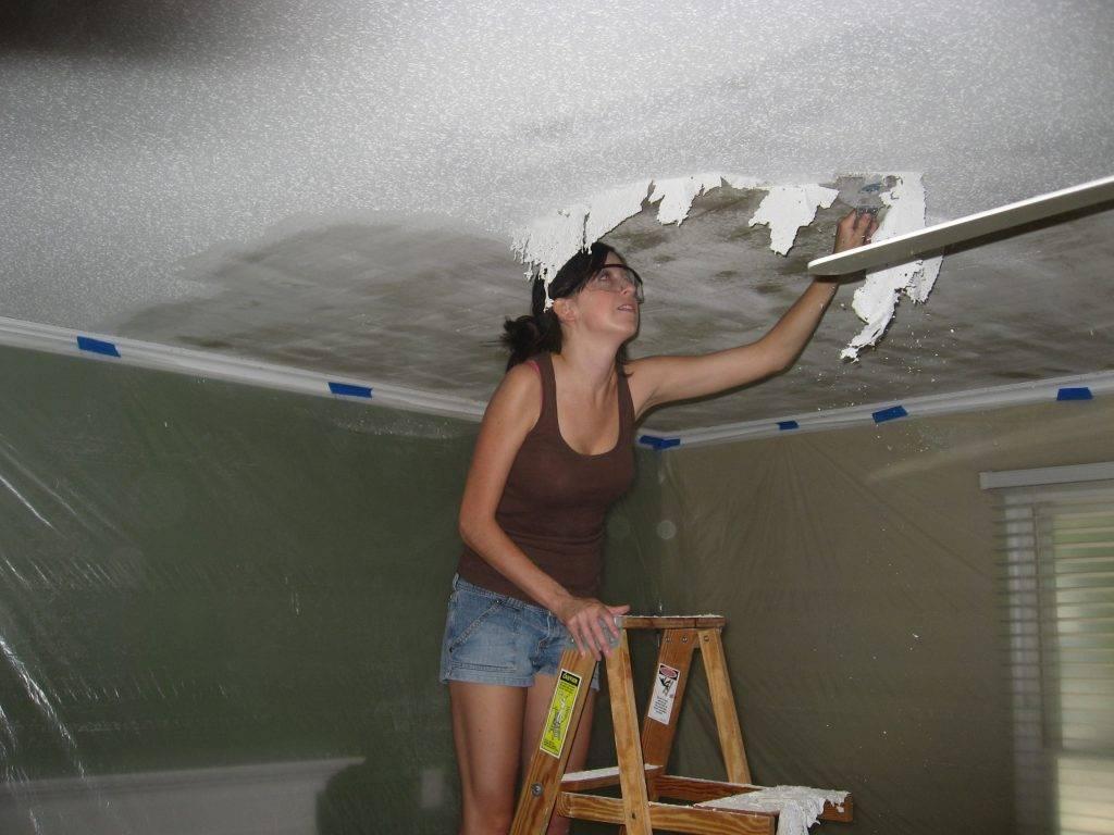 Побелка потолка — как правильно побелить по старой поверхности своими руками, цена материала и сколько стоит работа