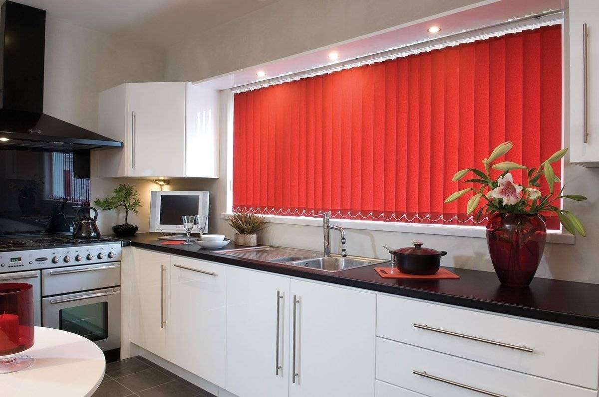 Японские шторы для кухни: идеи с фото