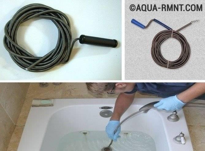 Прочистка канализации: как устранить засор в трубе в домашних условиях