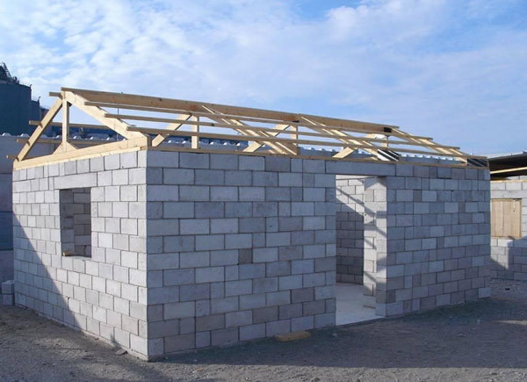 Строительство дома из шлакоблоков своими руками
