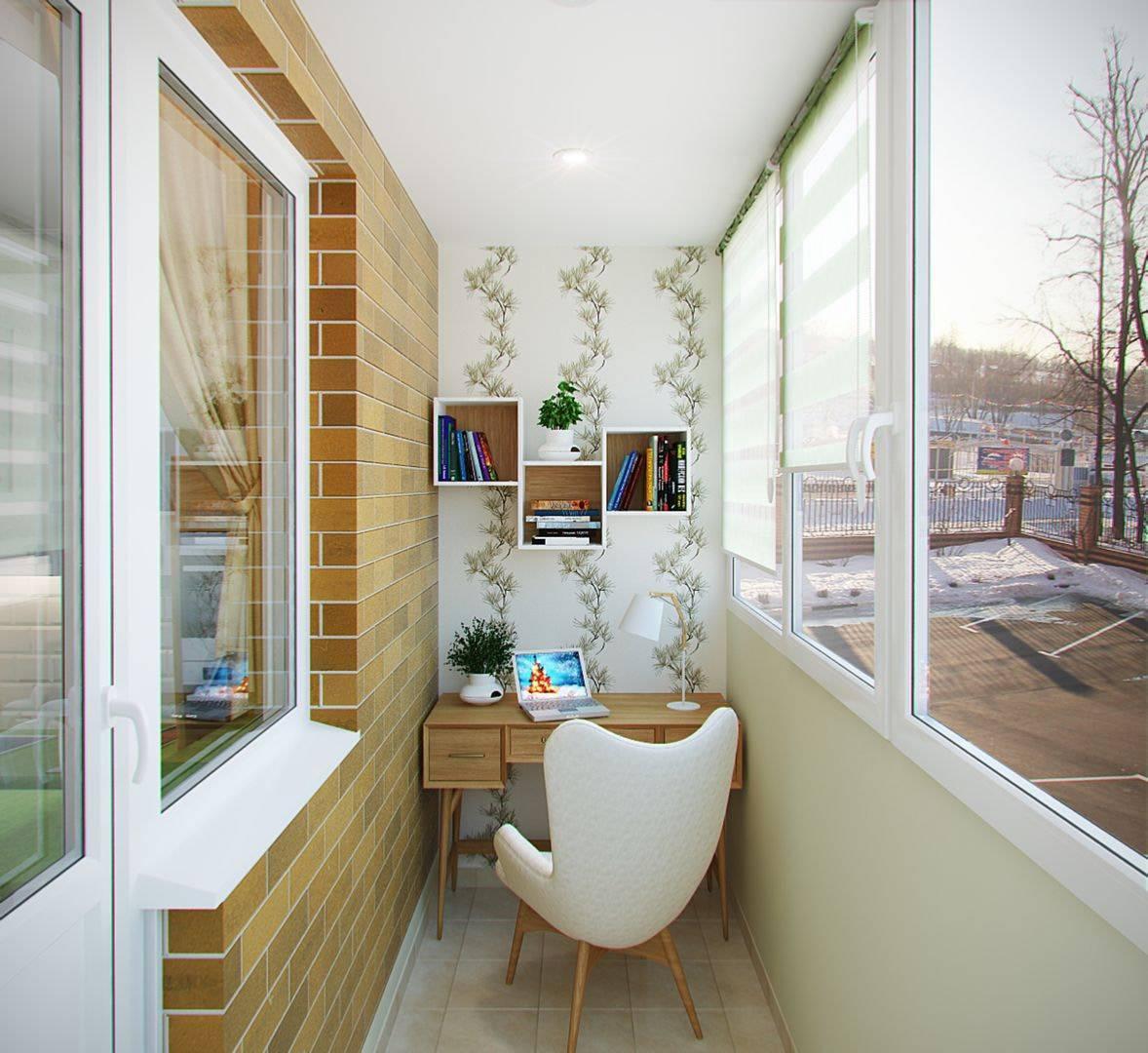 Отделка балкона внутри +100 фото обустройства, материалы обшивки