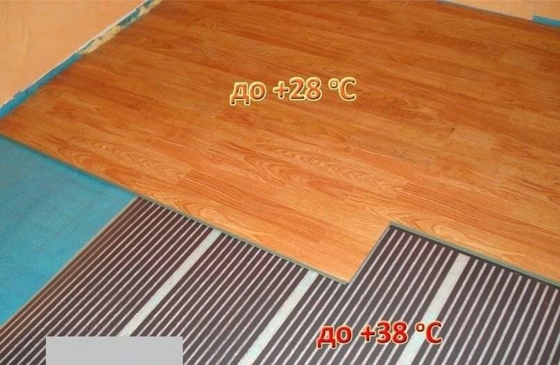 Электрический теплый пол под ламинат, плитку