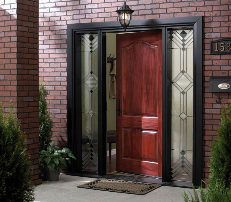 Какую лучше всего поставить входную дверь в дом: железную или пластиковую?