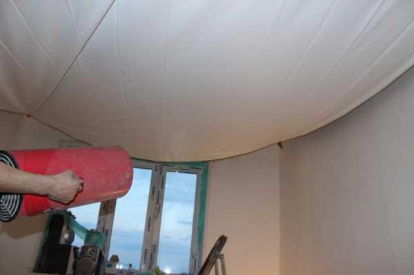 Натяжной потолок своими руками без нагрева - всё о ремонте потолка