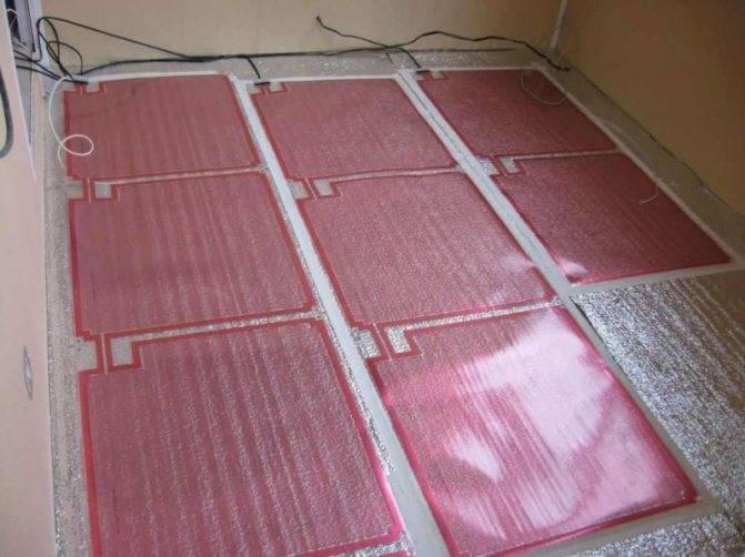 Все секреты укладки теплого электрического пола под плитку, ламинат и в стяжку