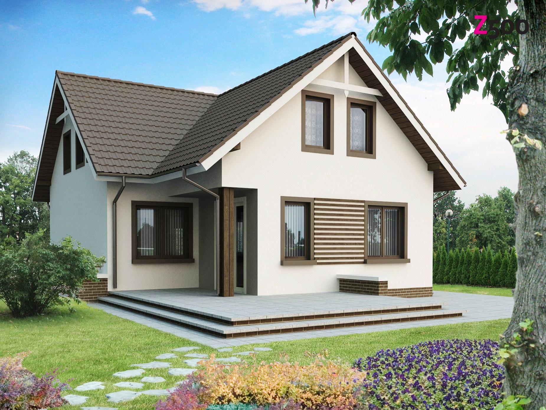 Дом с мансардой (100 фото): красивые проекты, идеи и дизайн