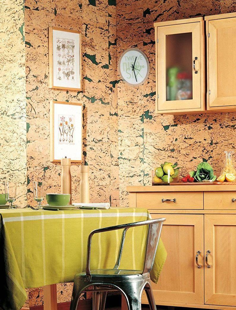 Сравнение свойств материалов для отделки кухонных стен