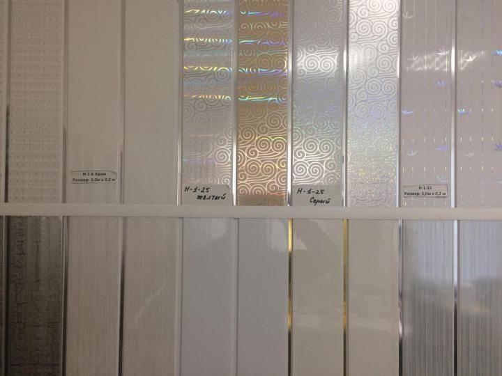 Потолочные панели из пластика - цена и размеры