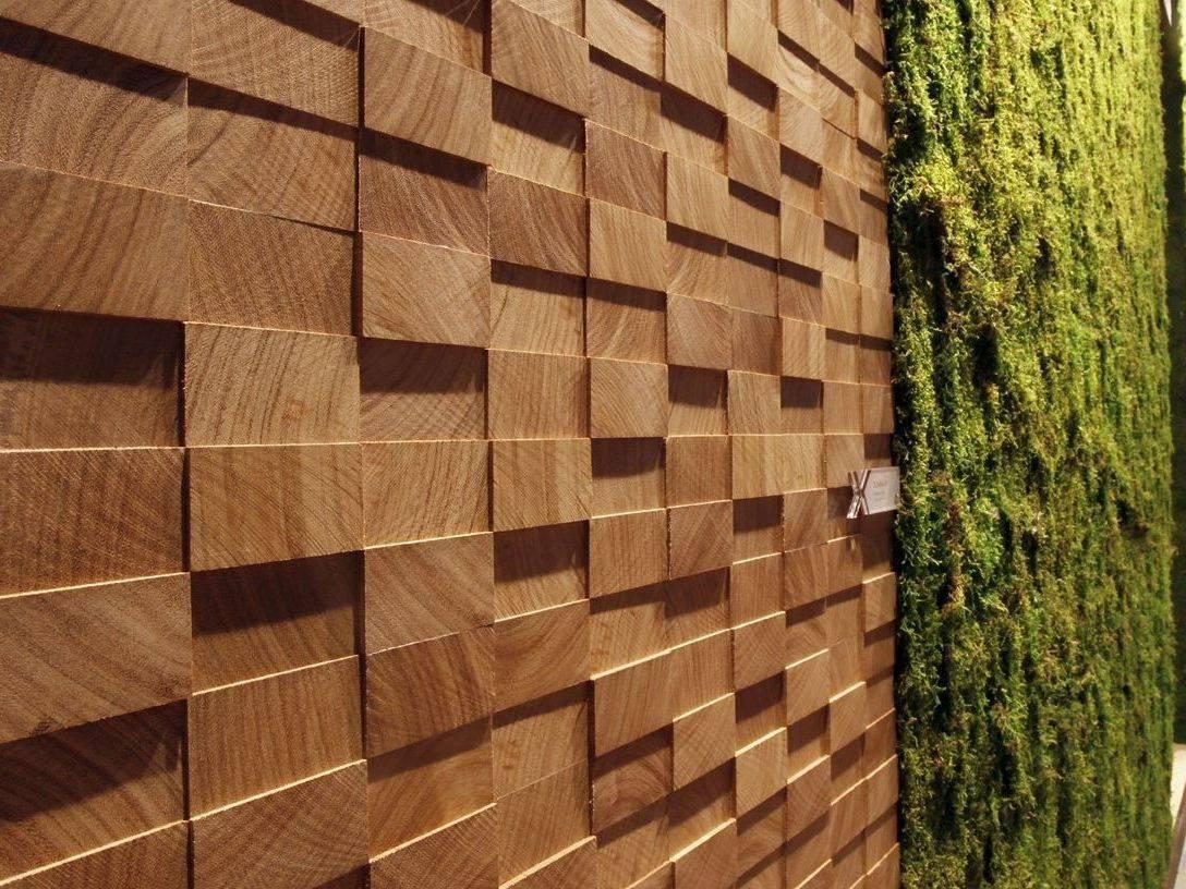 Обшивка стен натуральными стеновыми панелями из дерева