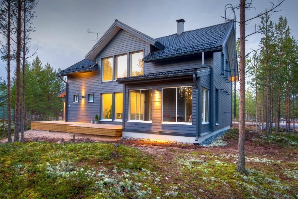 Зимний дом из профилированного бруса