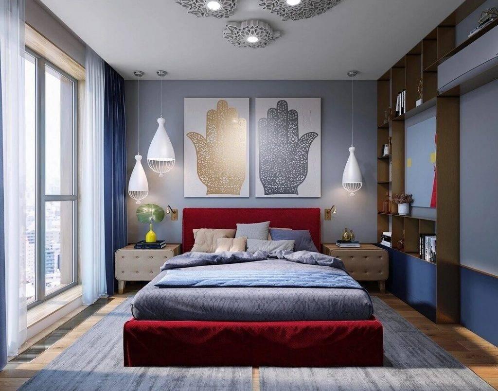 Дизайн стен в спальне: необычные варианты декора и отделки