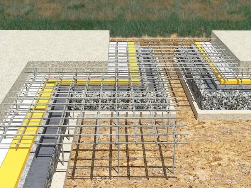 Фундамент плита: монолитное железобетонное основание для частного дома, его устройство, размеры, плюсы и минусы, фото, виды, а также из какого бетона заливать?