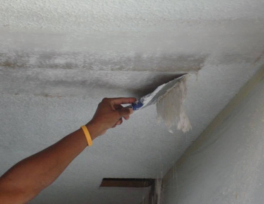 Как побелить потолок своими руками и стоимость квадратного метра