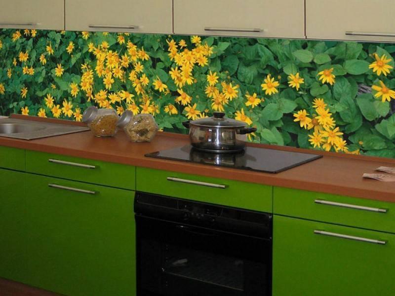 Какой должна быть высота фартука на кухне