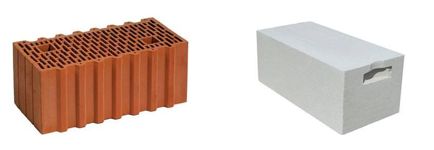 Газобетон или керамические блоки: что лучше - мнения специалистов
