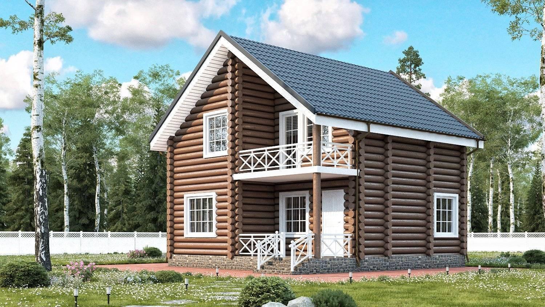 Мой дачный дом 6х8 из бревна: строительство и эксплуатация