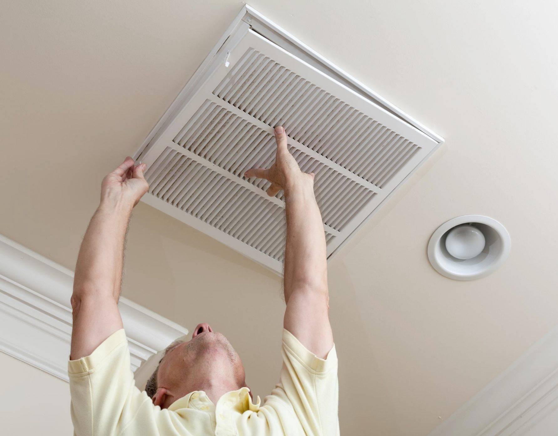 Виды вентиляционных решеток для натяжных (подвесных) потолков, особенности их выбора и техника установки