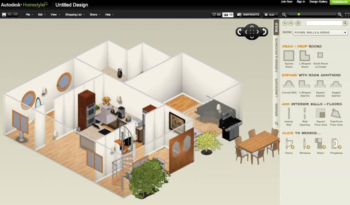 8 бесплатных программ для дизайна интерьера