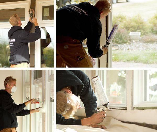 Выбираем материал и способ утепления деревянных окон