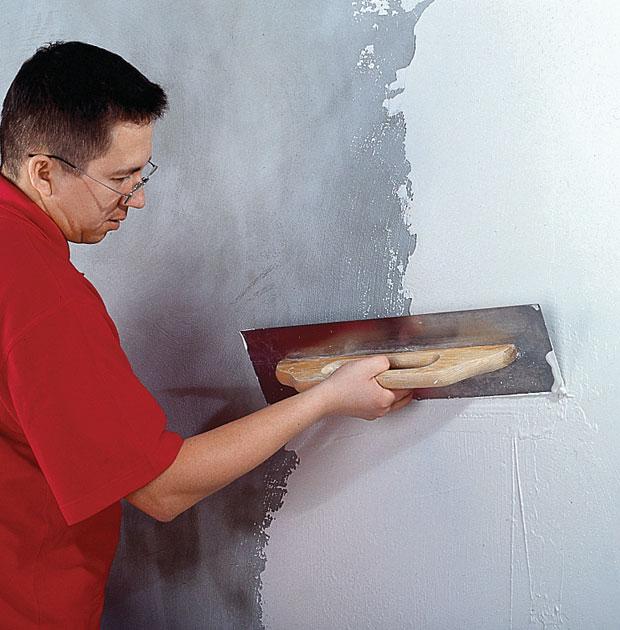 Штукатурка стен под покраску - что важно знать