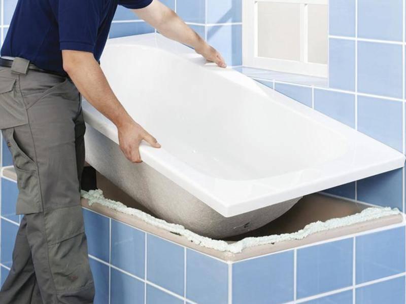 Вкладыш в ванну: как выбрать и установить | ремонт и дизайн ванной комнаты