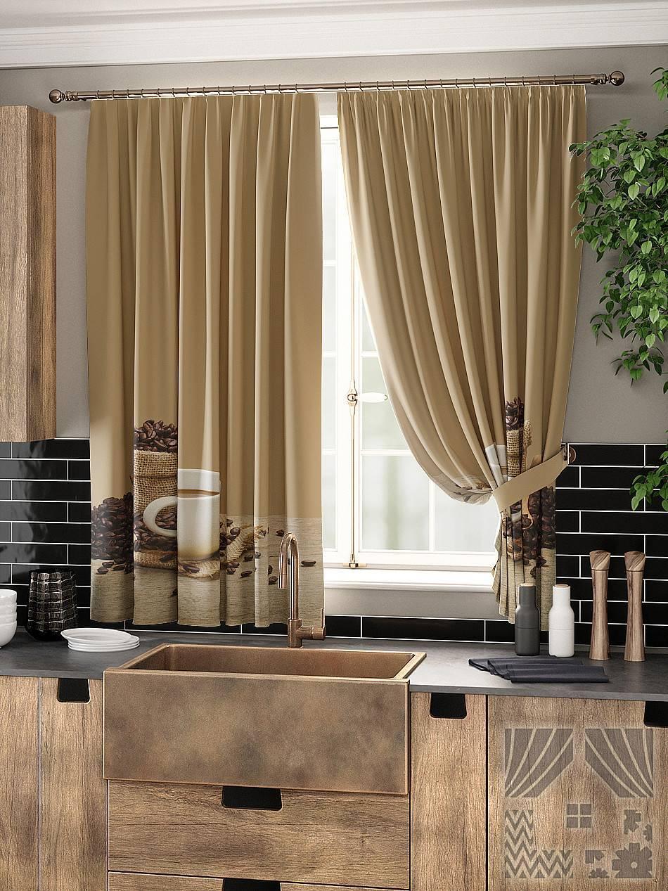 Идеи штор на кухню, оригинальные современные варианты, обзор
