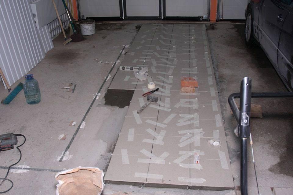 Пол в гараже (60 фото): варианты напольного покрытия с гидроизоляцией, полимерный и деревянный пол, какие конструкции лучше и дешевле,делаем своими руками