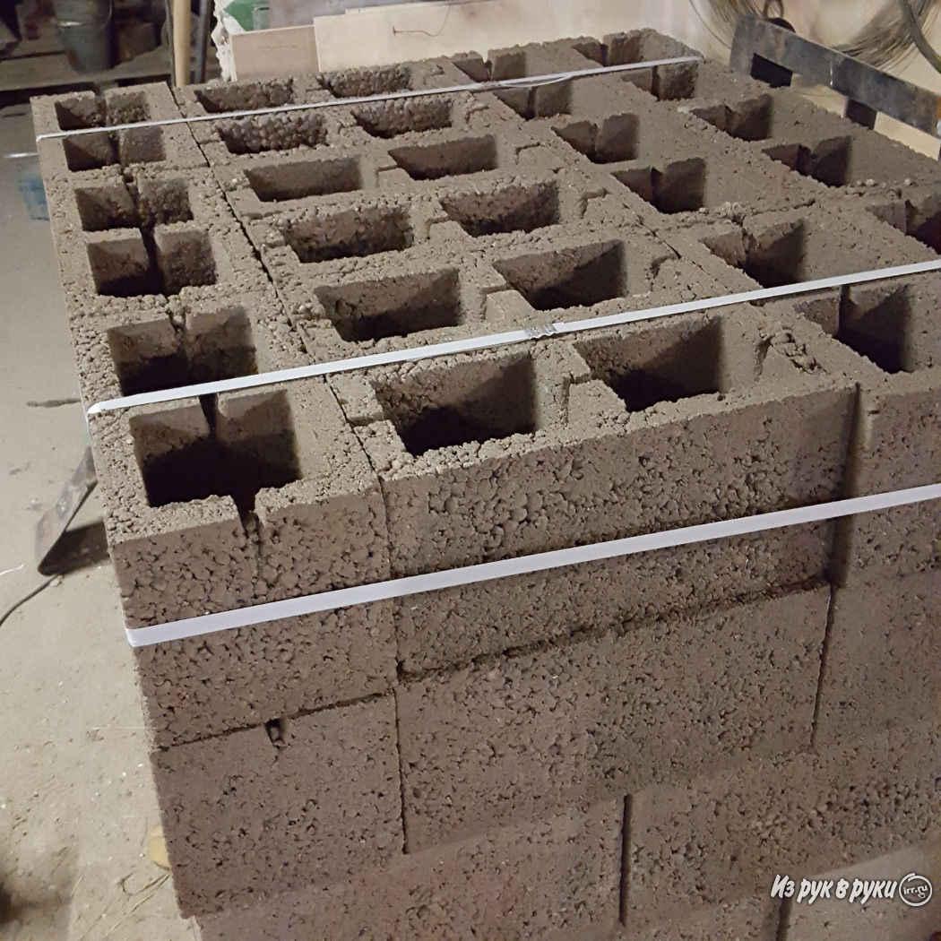 Размеры и характеристики керамзитовых блоков