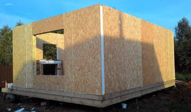 Строительство сип дома своими руками
