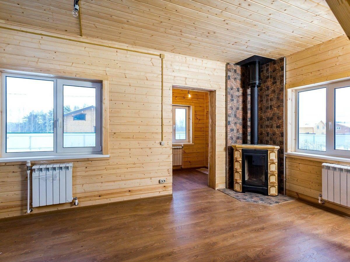 Чем лучше обшить стены внутри деревянного дома - клуб мастеров