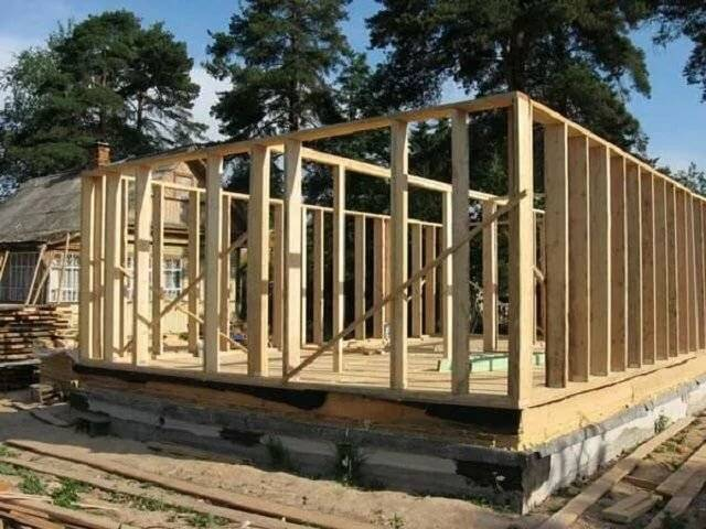 Каркасный дом своими руками: ???? пошаговая инструкция по строительству и утеплению