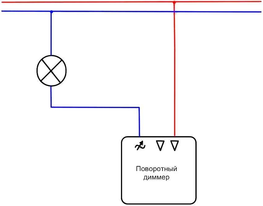 Схема подключения диммера, как подключить диммер: видео схема подключения диммера, как подключить диммер: видео