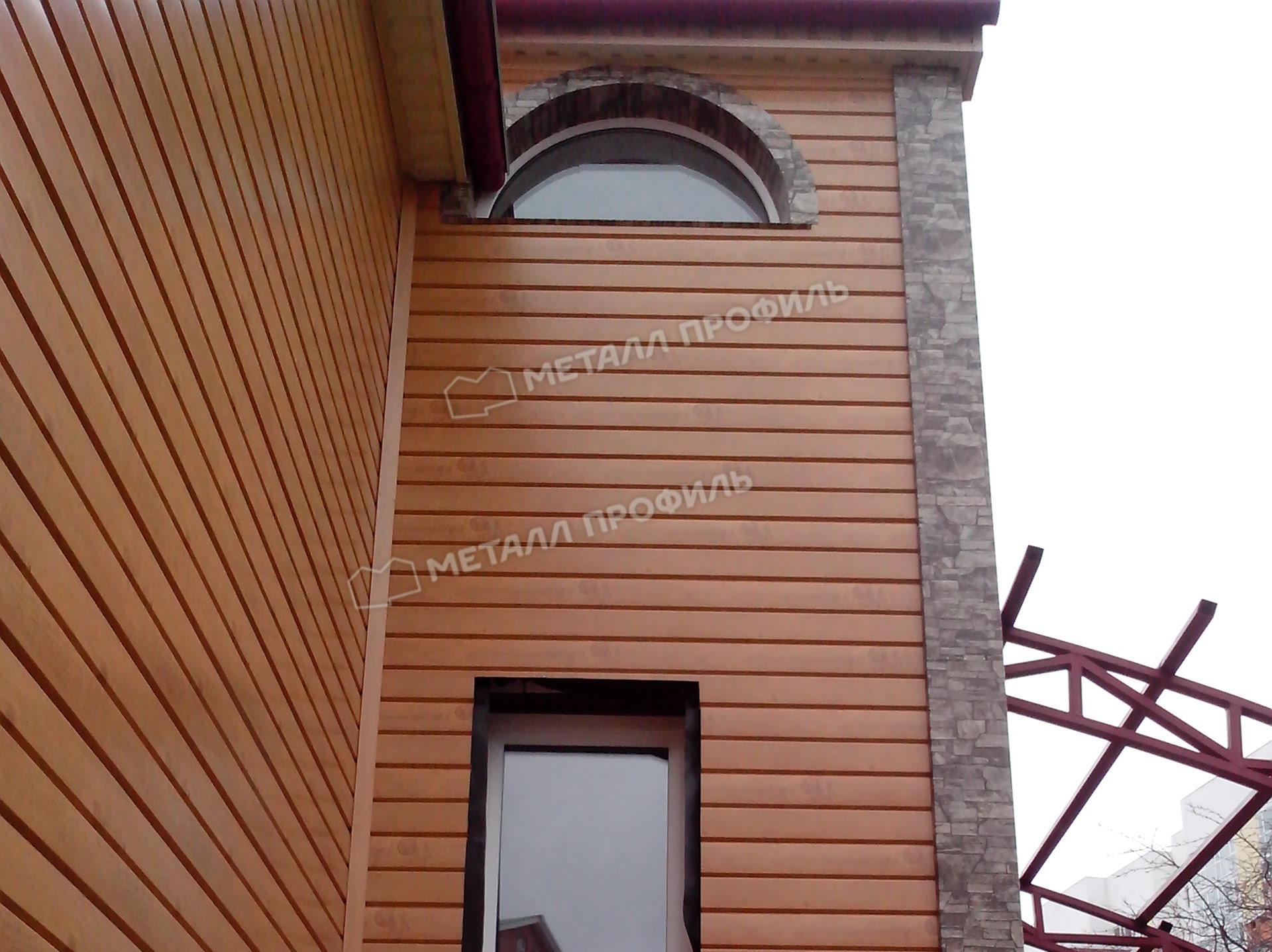 Сайдинг под бревно - интересный вариант отделки фасада