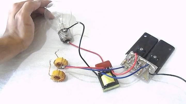 Инвертор 12 в 220 вольт своими руками