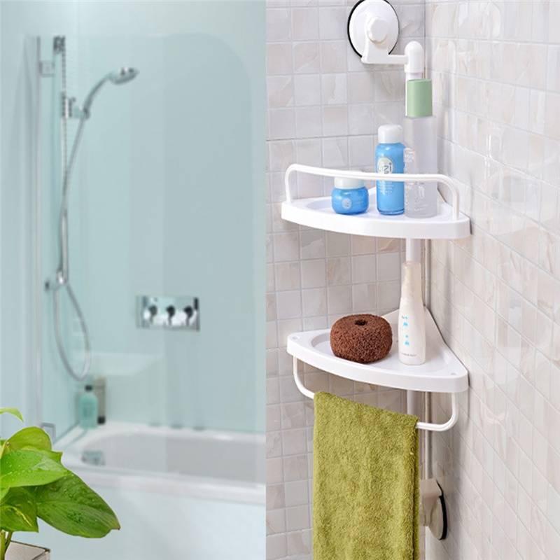Полочки для ванной комнаты - советы дизайнеров и подбор?
