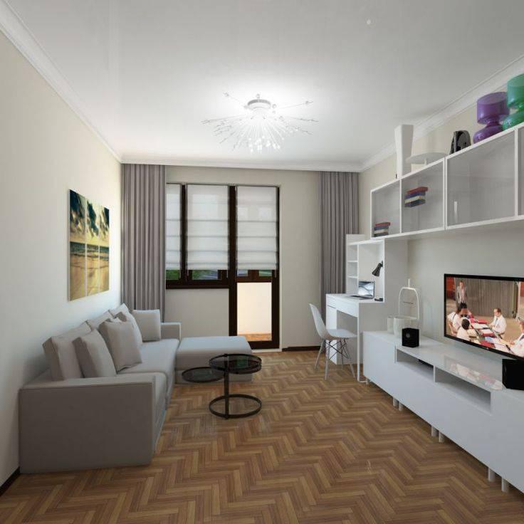 Ремонт однокомнатной квартиры: примеры планировок и идеи дизайна