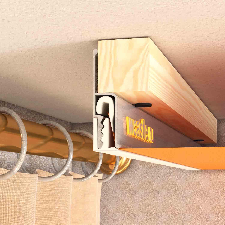 Потолочный карниз и натяжной потолок: как правильно установить своими руками, видео-инструкция, фото