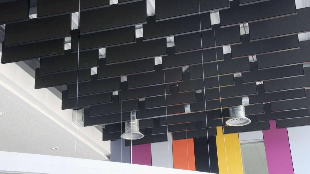 Акустические панели для потолка