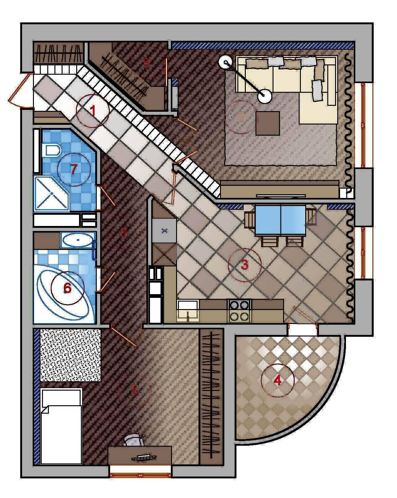 Перепланировка квартиры (124 фото): проект двухкомнатной квартиры, установка блоков для перегородок в комнате, что можно и что нельзя