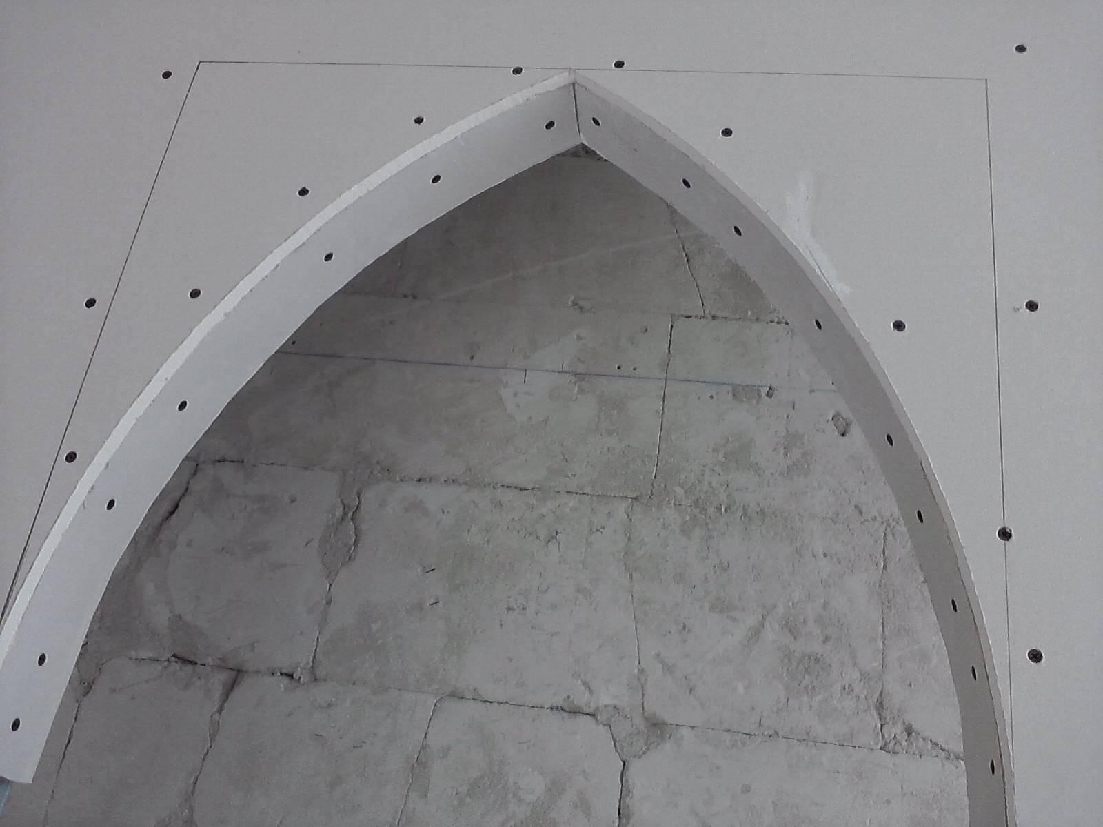 Арки из гипсокартона своими руками – пошаговая инструкция по изготовлению конструкций любого типа