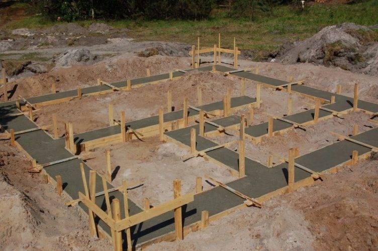 Фундамент для дома - типы, необходимые материалы и пошаговая инструкция монтажа