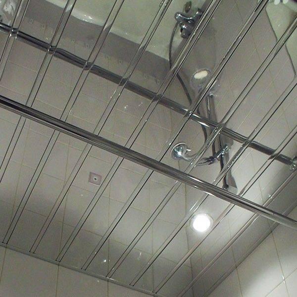 Алюминиевый реечный потолок - плюсы, минусы, применение, монтаж своими руками