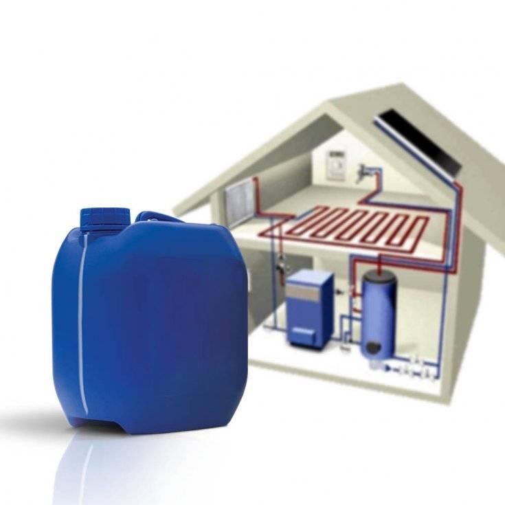 Антифриз для системы отопления загородного дома - какой лучше