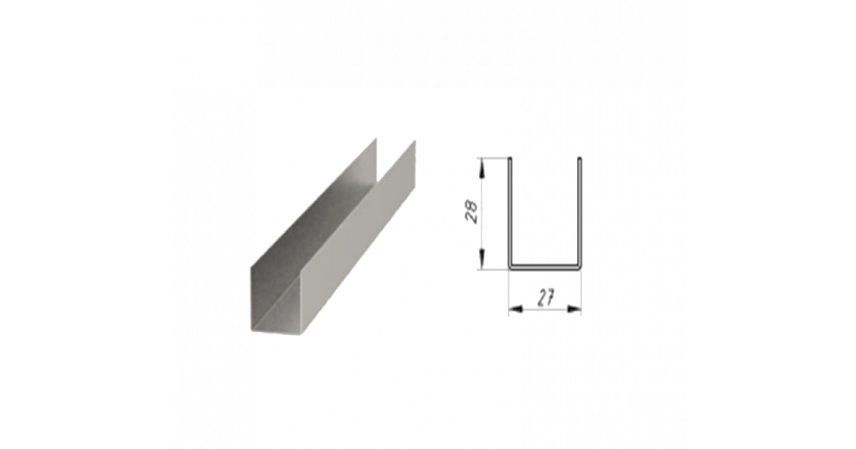 Виды профилей для гипсокартона и их размеры. виды комплектующих и крепежных элементов
