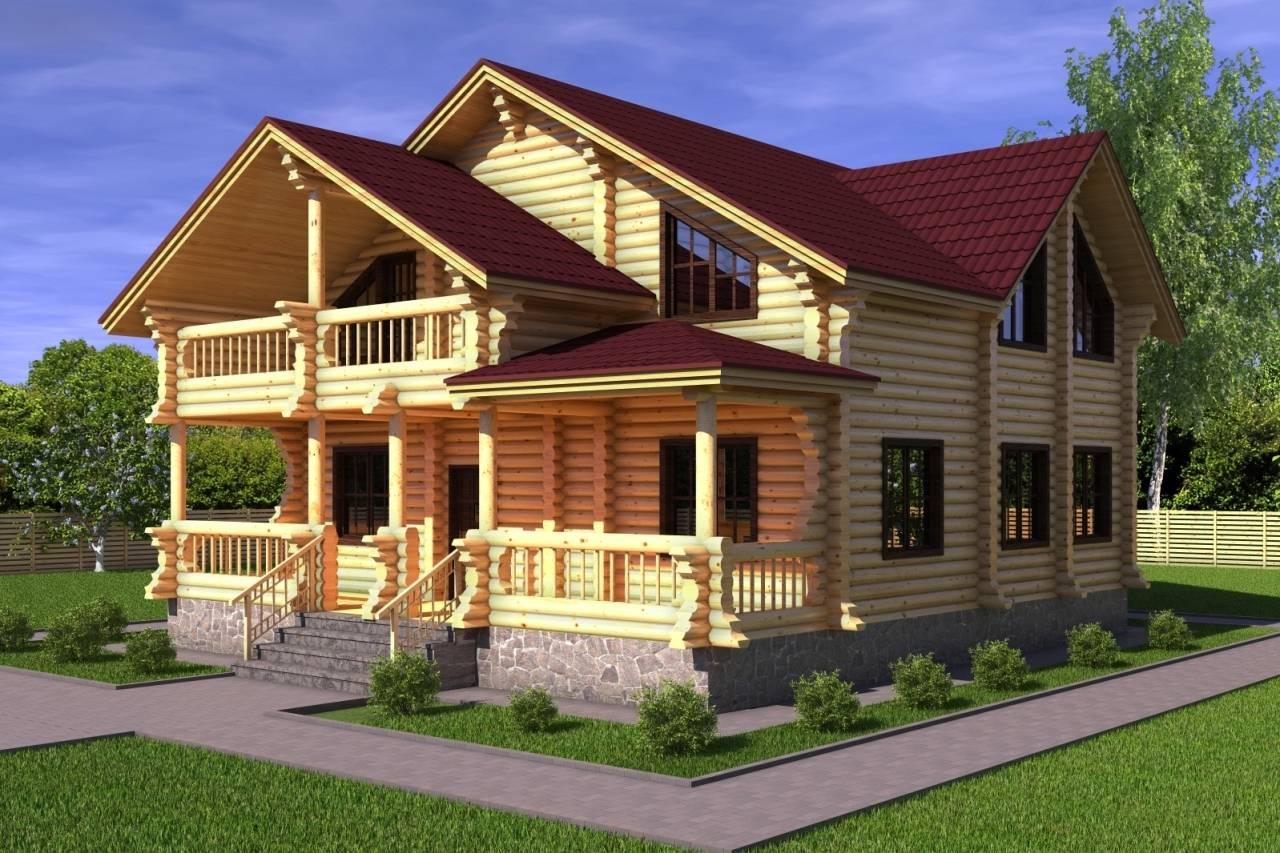 Проекты деревянных домов с мансардой (33 фото): особенности конструкции из дерева, коттеджи из бревна с эркером, деревенский дом с мансардным этажом