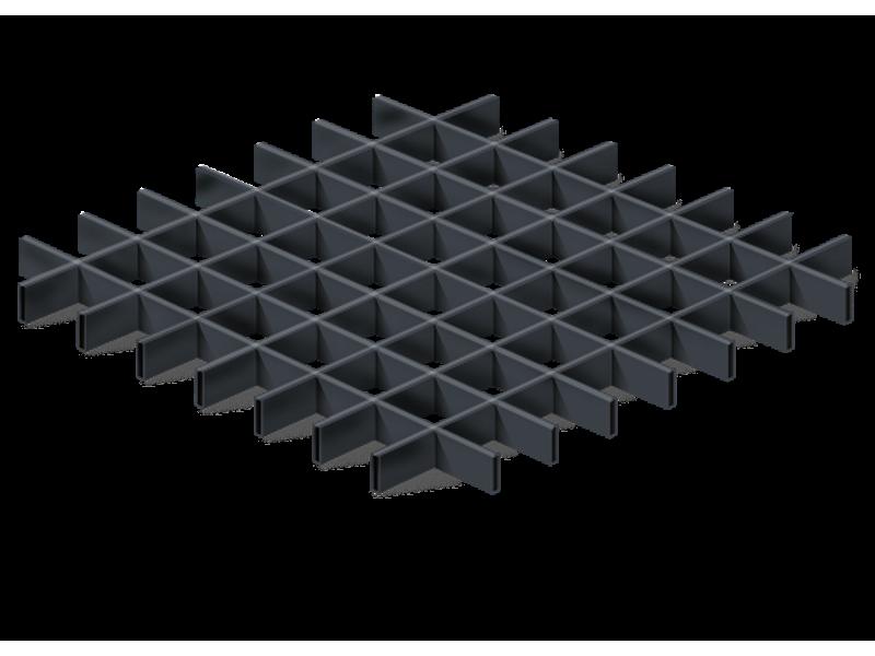 Решетчатый потолок: достоинства и недостатки потолков грильято, особенности конструкции, технические характеристики, виды и монтаж