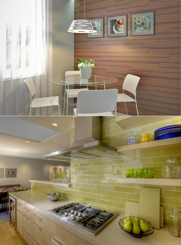 Отделочные материалы для стен на кухне — выбираем лучший вариант